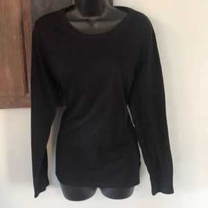 Mossimo Black Long-Sleeved Tee size XXL
